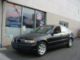 2002 Jet Black BMW 3 Series 325xi Sedan #76389515