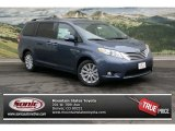 2013 Shoreline Blue Pearl Toyota Sienna Limited AWD #76388878