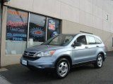 2010 Glacier Blue Metallic Honda CR-V LX AWD #76389508