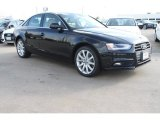 2013 Brilliant Black Audi A4 2.0T quattro Sedan #76389266