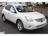 2013 Pearl White Nissan Rogue SV #76388622