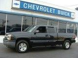 2005 Black Chevrolet Silverado 1500 LS Extended Cab 4x4 #76389101