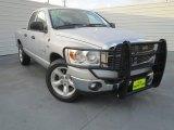 2008 Bright Silver Metallic Dodge Ram 1500 Lone Star Edition Quad Cab #76389258
