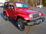 2013 Jeep Wrangler Deep Cherry Red Crystal Pearl
