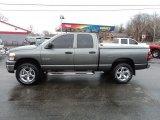 2008 Mineral Gray Metallic Dodge Ram 1500 Big Horn Edition Quad Cab 4x4 #76389371