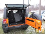 2012 Jeep Wrangler Sport S 4x4 Trunk