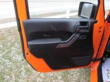 2012 Jeep Wrangler Sport S 4x4 Door Panel