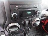 2012 Jeep Wrangler Sport S 4x4 Audio System