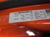2012 Jeep Wrangler Sport S 4x4 Info Tag