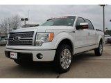 2011 White Platinum Metallic Tri-Coat Ford F150 Platinum SuperCrew #76434220