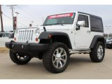 2012 Bright White Jeep Wrangler Sport S 4x4 #76434212