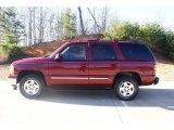 2005 Sport Red Metallic Chevrolet Tahoe LT #76434279