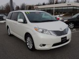 2011 Blizzard White Pearl Toyota Sienna Limited AWD #76434181