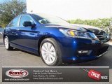 2013 Obsidian Blue Pearl Honda Accord EX Sedan #76434108