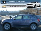 2013 Atlantis Blue Metallic Chevrolet Equinox LS AWD #76452675