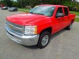 2012 Victory Red Chevrolet Silverado 1500 LT Crew Cab #76452671