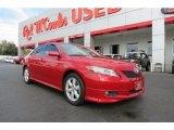 2008 Barcelona Red Metallic Toyota Camry SE V6 #76452652