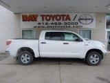 2013 Super White Toyota Tundra CrewMax 4x4 #76452641