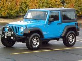 2011 Cosmos Blue Jeep Wrangler Sport 4x4 #76456609