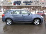 2013 Atlantis Blue Metallic Chevrolet Equinox LS #76456511
