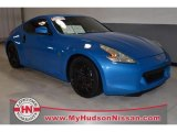 2009 Monterey Blue Nissan 370Z Touring Coupe #76456131