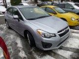 2012 Ice Silver Metallic Subaru Impreza 2.0i Premium 5 Door #76456788