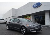 2013 Sterling Gray Metallic Ford Fusion SE 1.6 EcoBoost #76456491