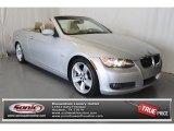2008 Titanium Silver Metallic BMW 3 Series 335i Convertible #76456591