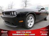 2013 Pitch Black Dodge Challenger SXT #76456473