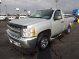 2012 Silver Ice Metallic Chevrolet Silverado 1500 LS Regular Cab #76456657