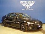 2009 Jet Black BMW 3 Series 328xi Coupe #76456366