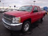 2013 Victory Red Chevrolet Silverado 1500 LT Extended Cab 4x4 #76456654