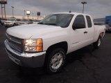 2013 Summit White Chevrolet Silverado 1500 LT Extended Cab 4x4 #76456653
