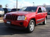 2006 Inferno Red Crystal Pearl Jeep Grand Cherokee Laredo 4x4 #7635134