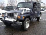 2006 Midnight Blue Pearl Jeep Wrangler Unlimited 4x4 #7635132