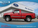 2002 Victory Red Chevrolet Silverado 1500 LS Regular Cab 4x4 #76456426