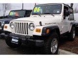 2006 Stone White Jeep Wrangler Rubicon 4x4 #7635144