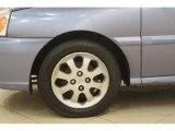 Kia Rio 2003 Wheels and Tires