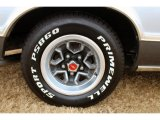 Chevrolet El Camino Wheels and Tires