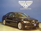 2009 Jet Black BMW 3 Series 335xi Coupe #76456340