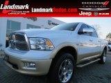 2012 Bright White Dodge Ram 1500 Laramie Longhorn Crew Cab 4x4 #75394365