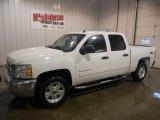 2013 Summit White Chevrolet Silverado 1500 LT Crew Cab 4x4 #76500152