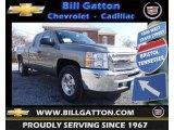 2013 Graystone Metallic Chevrolet Silverado 1500 LT Extended Cab 4x4 #76500010