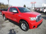 2010 Radiant Red Toyota Tundra Limited Double Cab 4x4 #76499871