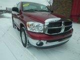 2008 Inferno Red Crystal Pearl Dodge Ram 1500 SLT Regular Cab #76500145