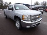 2013 Silver Ice Metallic Chevrolet Silverado 1500 LT Extended Cab 4x4 #76499863