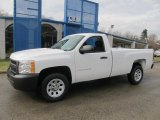 2013 Summit White Chevrolet Silverado 1500 Work Truck Regular Cab #76499441
