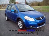 2007 Techno Blue Metallic Suzuki SX4 Sport AWD #7636605