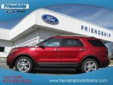 2013 Ruby Red Metallic Ford Explorer Limited 4WD #76499428