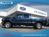 2013 Blue Jeans Metallic Ford F250 Super Duty XLT Crew Cab 4x4 #76499424
